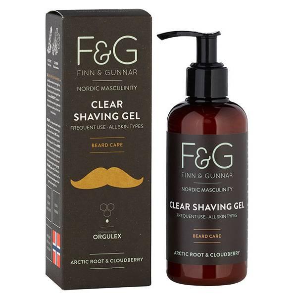 Bilde av F&G Nordic Masculinity Clear Shaving Gel