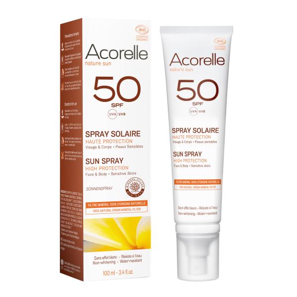 Bilde av Acorelle Sun Spray SPF 50 – 100ml